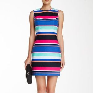 NWT Kate Spade stripe cocktail dress size US 6